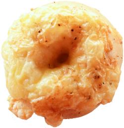 チーズトップベーグル