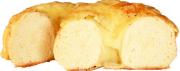チーズトップベーグル カット